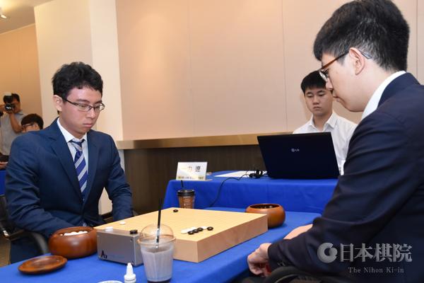 一力、芝野が敗れ、日本勢は姿消す【第23回LG杯朝鮮日報棋王戦2回戦】
