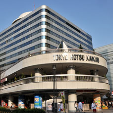 The Yurakucho Go center (Tokyo traffic hall) appearance